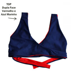 TOP VANGUARD 2 EM 1 DUPLA FACE RED AND BLUE EXCLUSIVO SURPREENDA STORE  A SUA LOJA RETRO