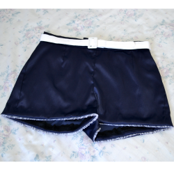 SHORTS PIN UP RETRO CINTURA ALTA SAILOR EXCLUSIVO S.S. A SUA LOJA RETRO